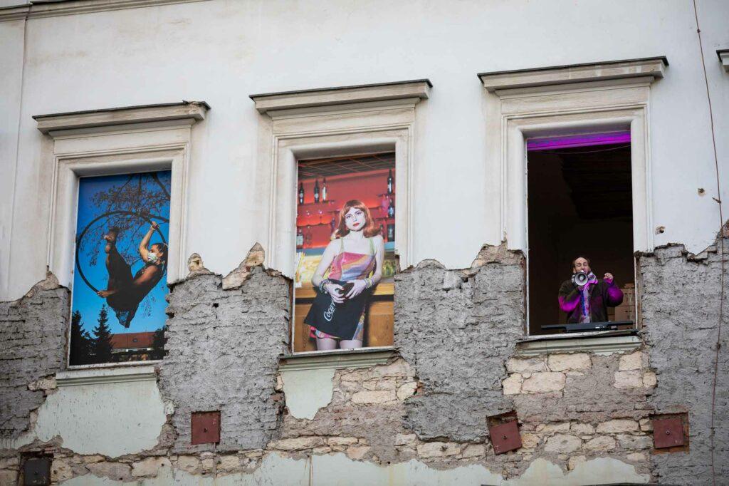 vernisáž výstavy Nadeje / Fasada